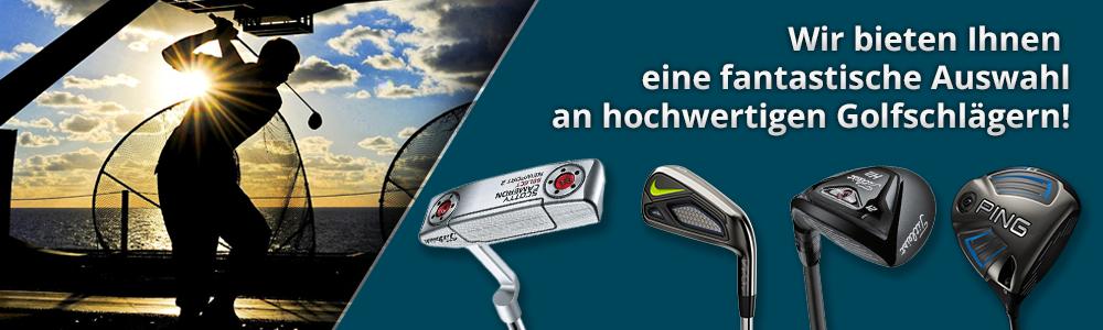 Wir bieten Ihnen eine fantastische Auswahl an hochwertigen Golfschlägern!